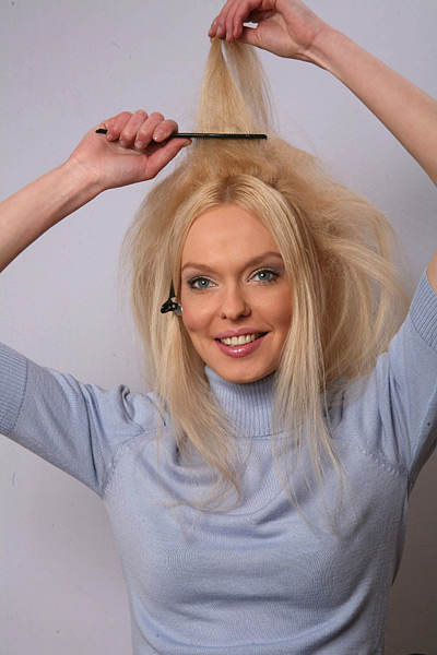 Как сделать объем волос без начеса